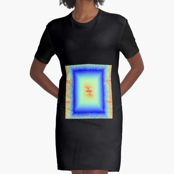 The Sacred Dreams of Secret Lovers Graphic T-Shirt Dress