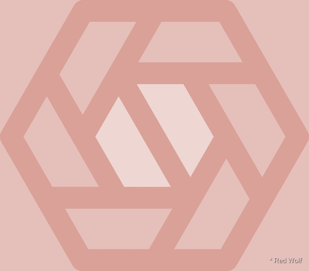 Geometric Pattern: Aperture: Peach by * Red Wolf