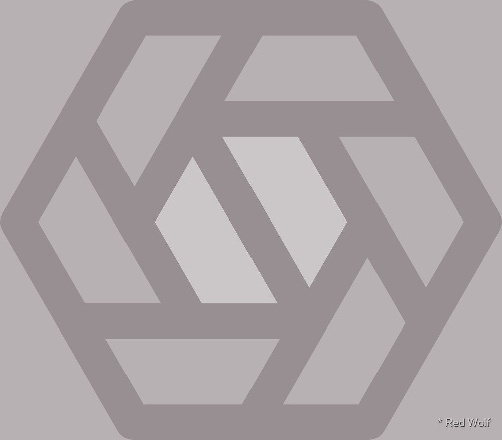 Geometric Pattern: Aperture: Platinum by * Red Wolf