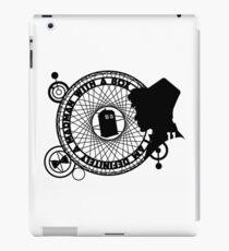 Eleventh Doctor Silhouette iPad Case/Skin