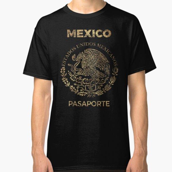 Mexico Vintage Passport Classic T-Shirt
