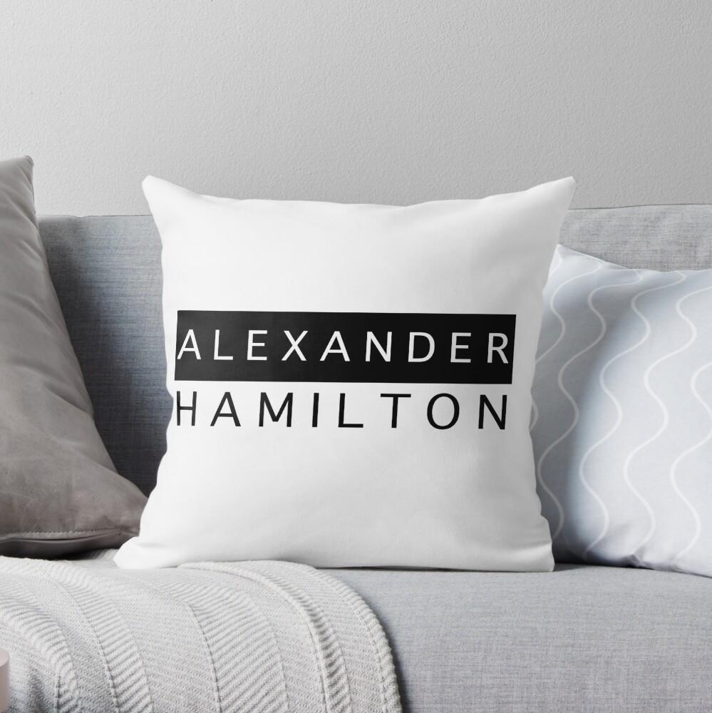 Alexander Hamilton Chic Cojín