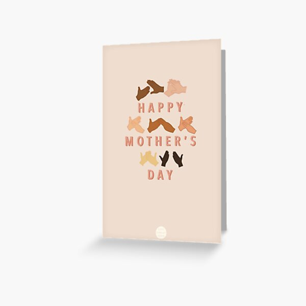 Auslan Happy Mother's Day Greeting Card