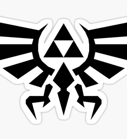 Timeless Triforce Sticker
