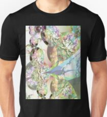 Wings of Angels - Celeste & Amethyst Crystals Unisex T-Shirt