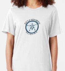 Gulf Shores - Alabama. Slim Fit T-Shirt