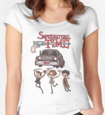 Supernatural Time (2015) Women's Fitted Scoop T-Shirt