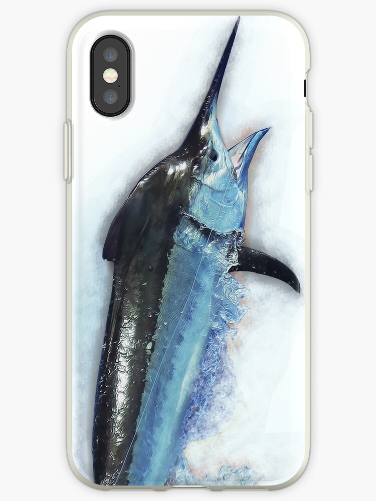 Giant Marlin iPhone & iPod Case by blackmarlinblog