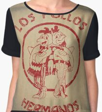 Los pollos hermanos Women's Chiffon Top