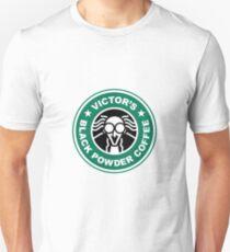 Victor's Black Powder Coffee Unisex T-Shirt