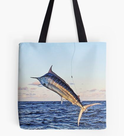 Marlin Canvas - Gold Time Tote Bag
