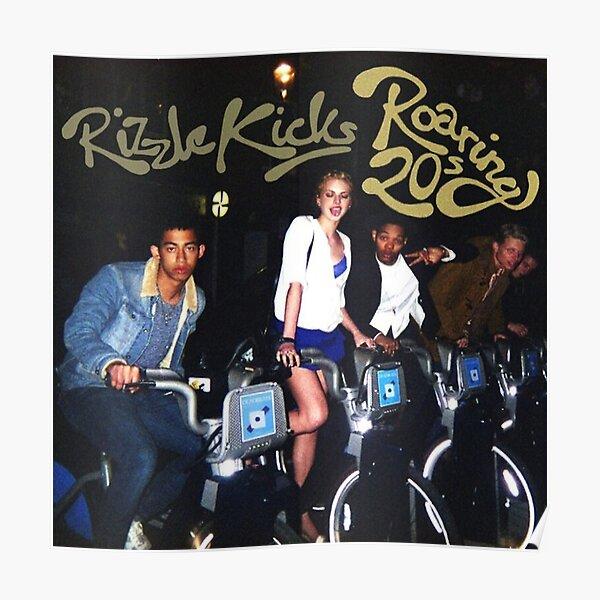 Rizzle Kicks - Roaring 20s Cover Album Poster