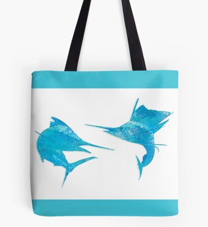 Marlin / Sailfish Mosaic - Light Tote Bag