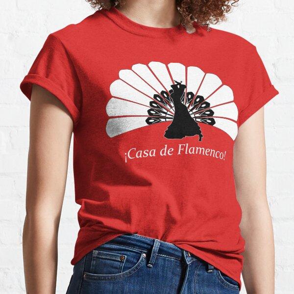 Casa de Flamenco (Colores Surtidos) Camiseta clásica