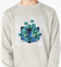 Cubes Of Earth Pullover Sweatshirt