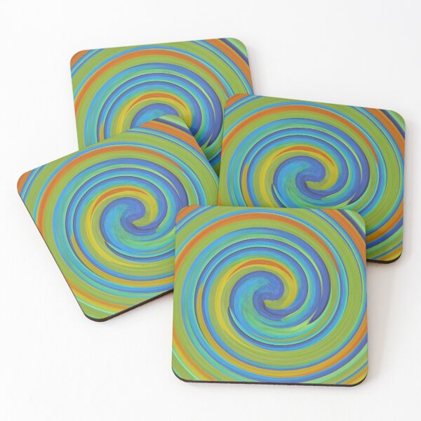 Coasters - Dance of OBP Colours Coasters (Set of 4)
