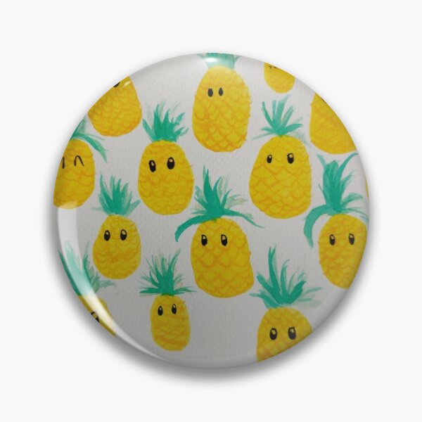Just a Bunch of Pineapples Pin