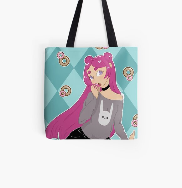 Donut Lover Mika All Over Print Tote Bag