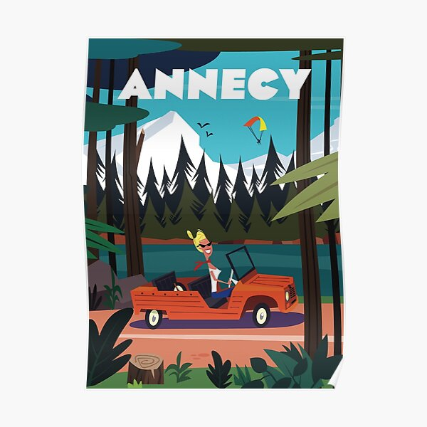 Annecy poster Poster