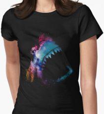 Space Shark Women's Fitted T-Shirt
