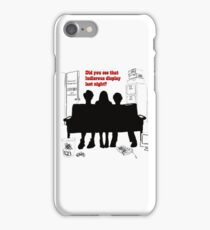 "Did you see that ludicrous display last night?""  iPhone Case/Skin"