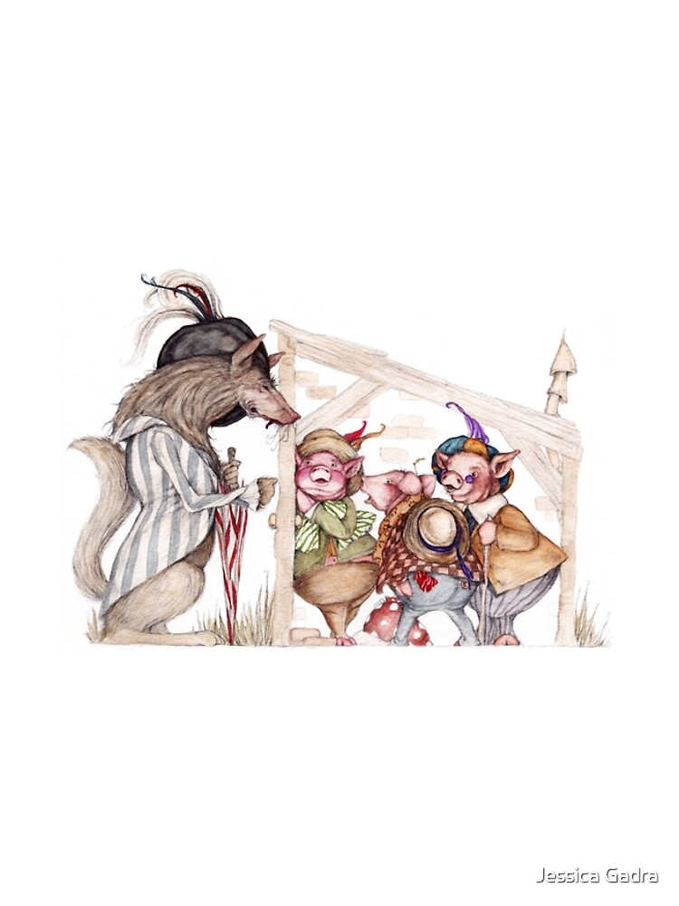 Three little pigs by jessicagadra
