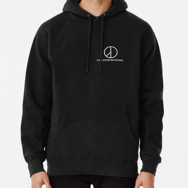 G Dragon Peace Minus One Logo Pocket Pullover Hoodie