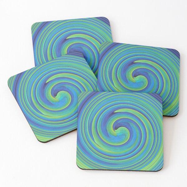 Coasters - Swirling OBP Wings Coasters (Set of 4)
