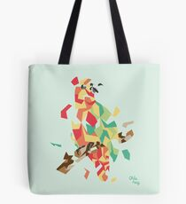 Parrot explosion Tote Bag
