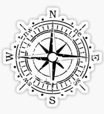 Follow Your Compass Sticker