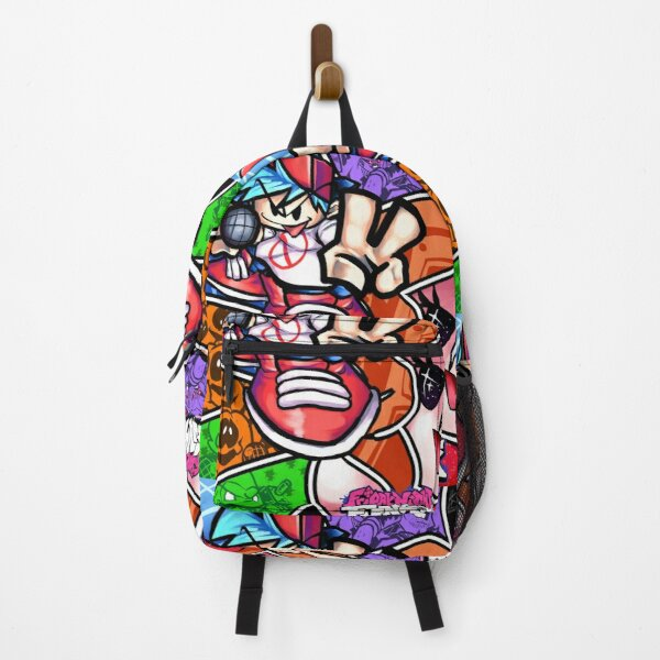 Friday Night Funkin Poster Backpack