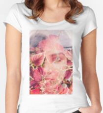 beneath the leaf Women's Fitted Scoop T-Shirt
