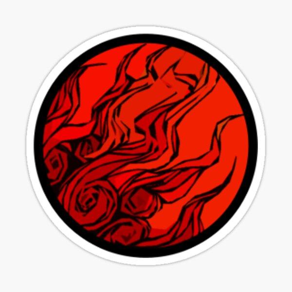 Éruption solaire Sticker