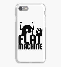 Flat Machine iPhone Case/Skin