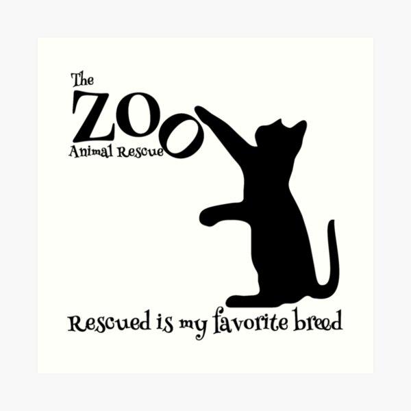 Le Zoo Animal Rescue Impression artistique