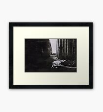 the sick rose Framed Print