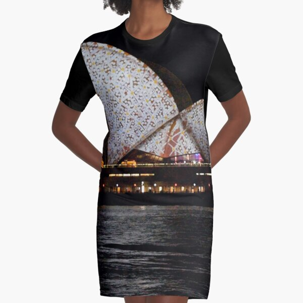 Vivid 2016 Opera House 6 Graphic T-Shirt Dress