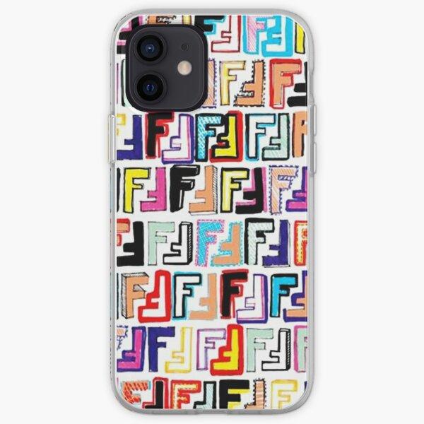 Modèle d'art Fendi Coque souple iPhone