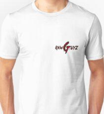 Raw Guyz Logo Text T-Shirt