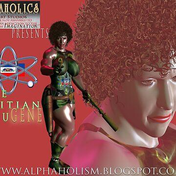The Haitian RefuGENE by alphaartstudios