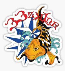 33zKine Original Koi (1st Design) Sticker