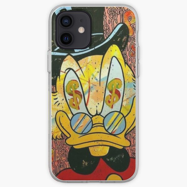 Scrooge McDuck iPhone Soft Case