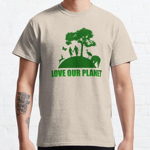 Greenpeace - Aimez notre planète T-shirt classique