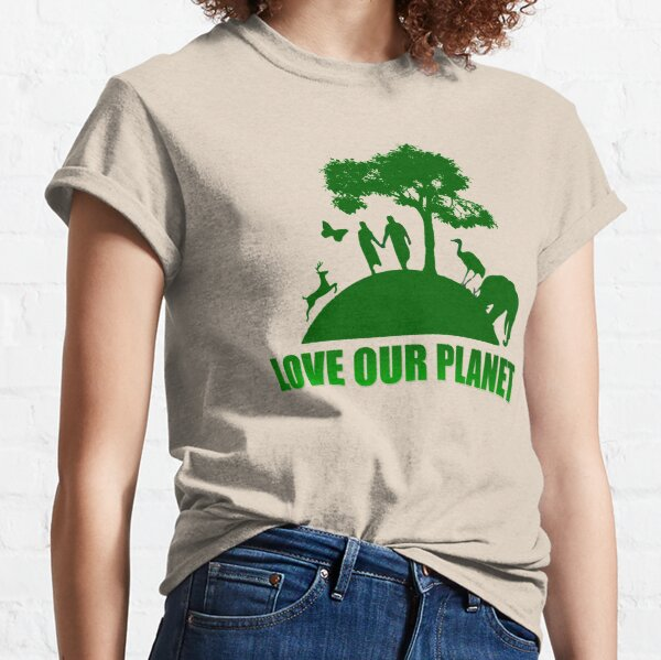 Greenpeace - Love our planet Classic T-Shirt