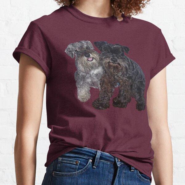 Miniature Schnauzer Buddies Classic T-Shirt