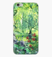 Lilies In The Wood iPhone Case
