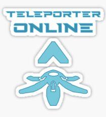 Teleporter online Sticker