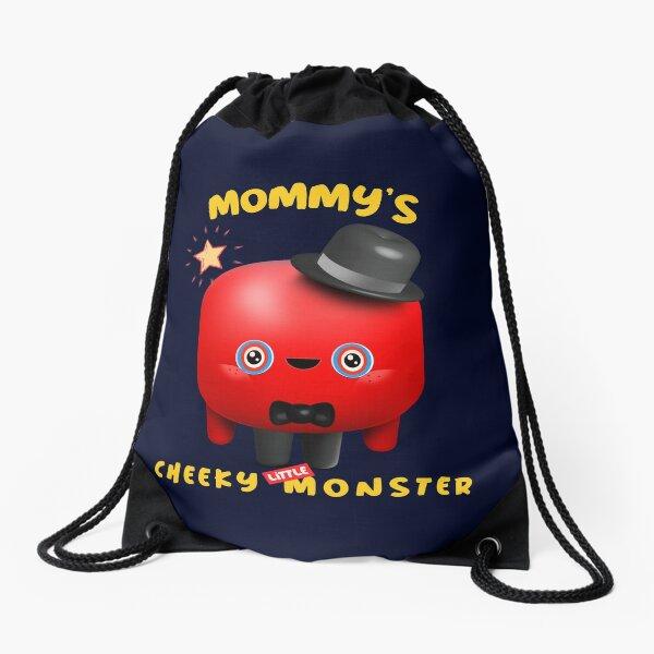 Mommy's Cheeky Little Monster - Otto Drawstring Bag