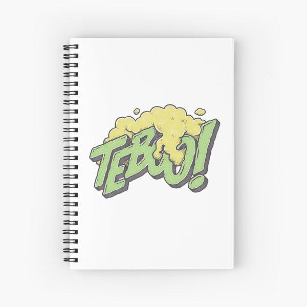 TEBOO! Spiral Notebook