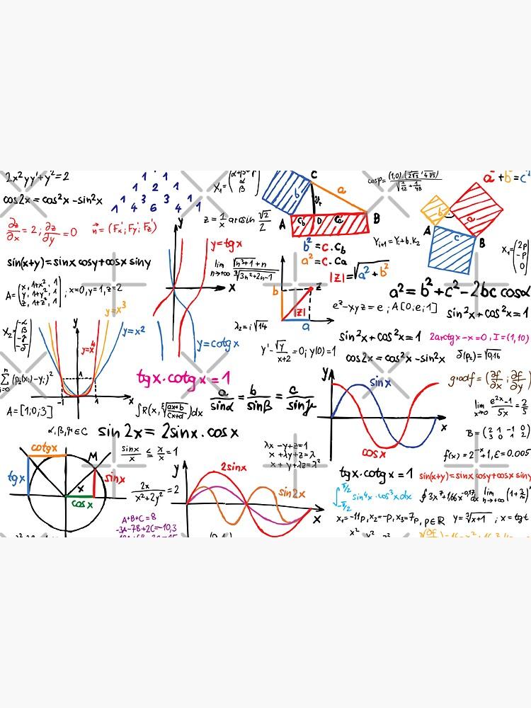 Mathematics Formulas Numbers  by CroDesign